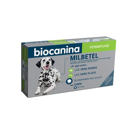 MILBETEL HOND wormafdrijvend 2 tabletten