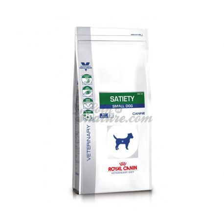 ROYAL CANIN VET DIET DOG SATIETY SMALL sac 3,5 kg