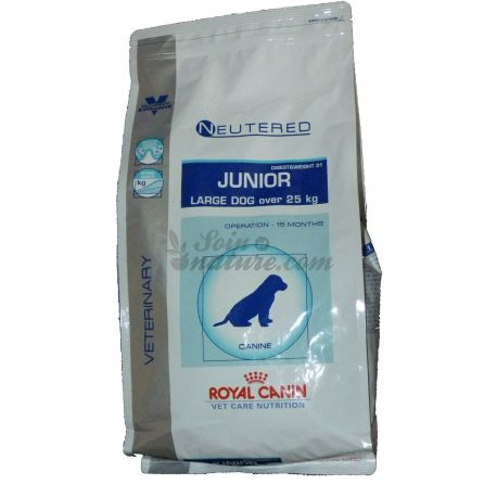 Royal Canin VET cuidados nutricionais Neutered JUNIOR CÃO GRANDE 1 KG