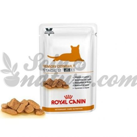 Royal Canin castrados Cat ESTÁGIO SÊNIOR February 12 BAGS 100 G