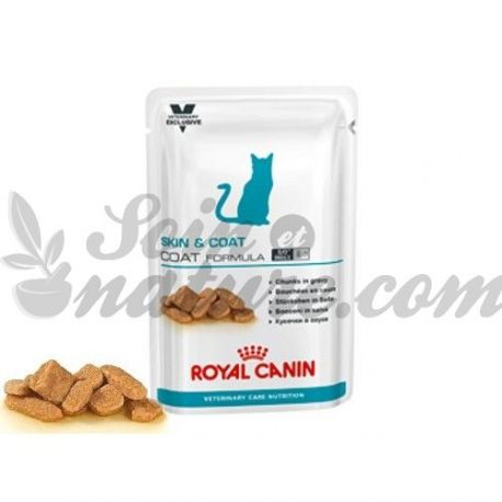 ROYAL CANIN NEUTERED CAT SKIN COAT 12 SACHETS DE 100 G