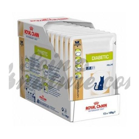 royal canin diabetic cat 12 bags 100 g. Black Bedroom Furniture Sets. Home Design Ideas