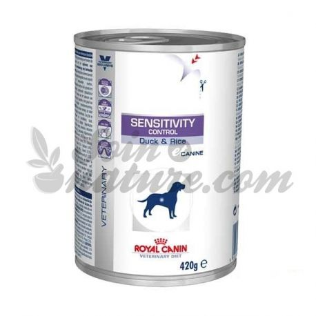ROYAL CANIN VET DIET DOG SENSITIVITY CONTROL CANARD 12 boîtes de 420 g