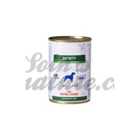 Royal Canin VET cão dieta Saciedade 12 caixas de 410 g
