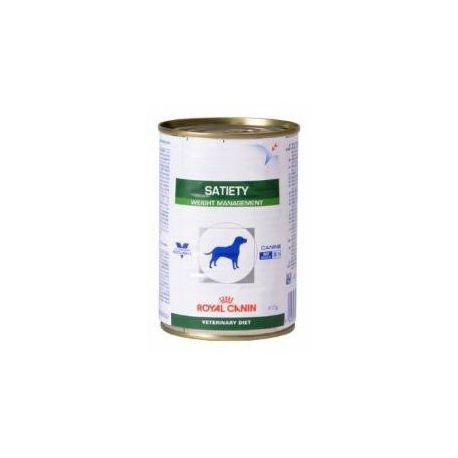 Royal Canin VET DIET DOG Satiety 12 Kisten mit 410 g