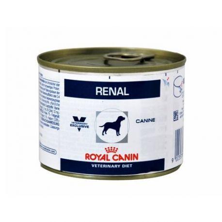 Royal Canin RENAL CÃO 12 latas de 200 G