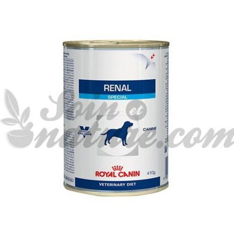 ROYAL CANIN VET DIET DOG RENAL 12 boîtes de 410 g