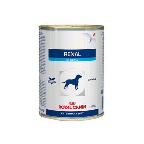 ROYAL CANIN VET DIET DOG RENAL 12 boîtes de 410 g