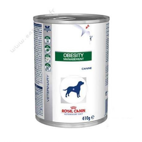Royal Canin OBESIDADE CÃO VET DIET 12 caixas de 410 g