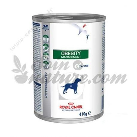 ROYAL CANIN VET DIET DOG OBESITY 12 boîtes de 410 g