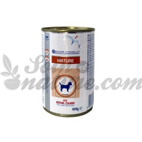 ROYAL CANIN VET DIET DOG MATURE 12 boîtes de 400 g