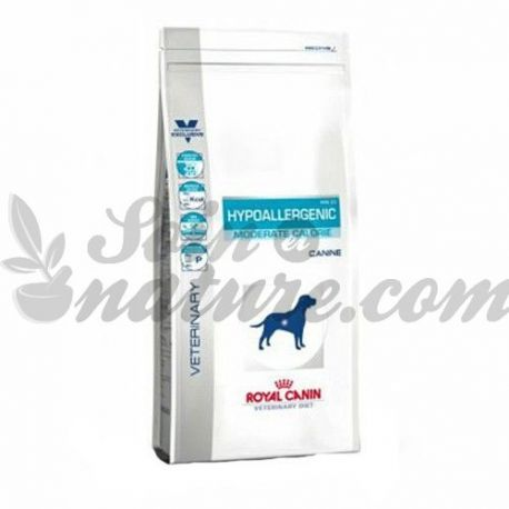 ROYAL CANIN VET DIET DOG HYPOALLERGENIC MODERATE CALORIE sac 14 kg
