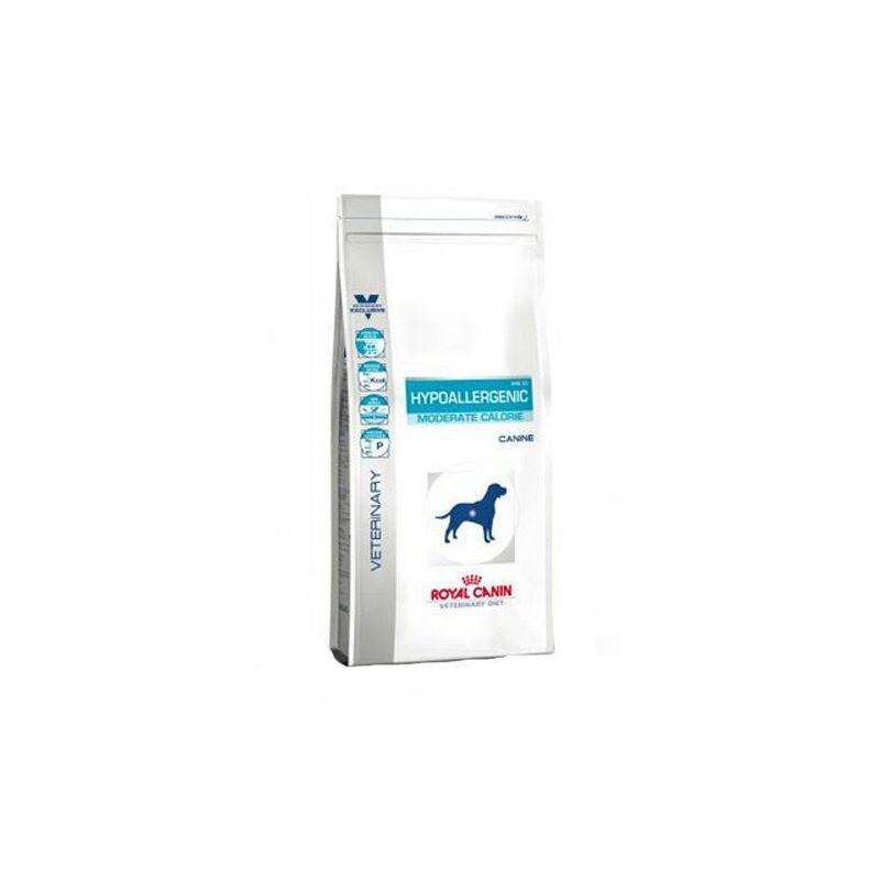 royal canin vet dog hypoallergenic moderate calorie diet bag 14 kg. Black Bedroom Furniture Sets. Home Design Ideas