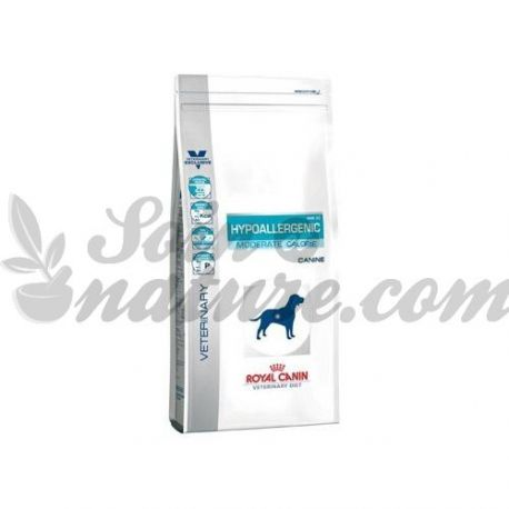 Royal Canin VET CÃO HYPOALLERGENIC saco dieta de calorias MODERADO 1,5 kg