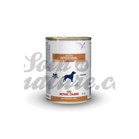 ROYAL CANIN VET DIET DOG GASTRO INTESTINAL LOW FAT 12 boîtes de 410 g