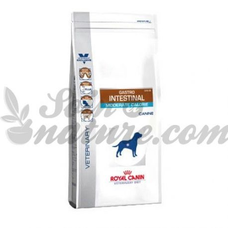 Royal Canin VET DIET DOG INTESTINAL MODERATE CALORIE GASRO 2 kg bag