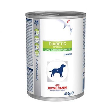 Royal Canin VET dieta Diabetic cão especial 12 caixas de 410 g