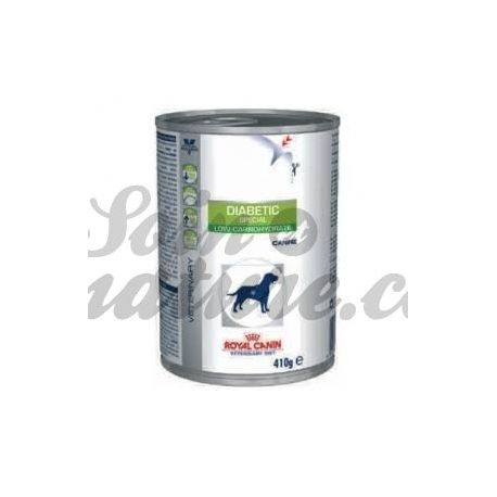 ROYAL CANIN VET DIET DOG DIABETIC LOW CARBOHYDRATE 12 boîtes de 195 g