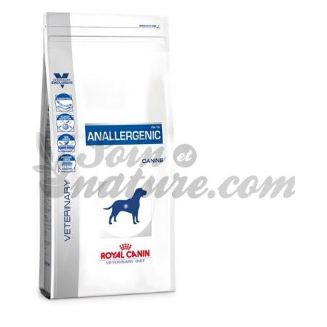 Royal Canin VET DIET DOG 3 kg bag ANALLERGENIC