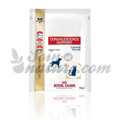 ROYAL CANIN CONVALESCENCE SUPPORT 10 SACHETS DE 50 G