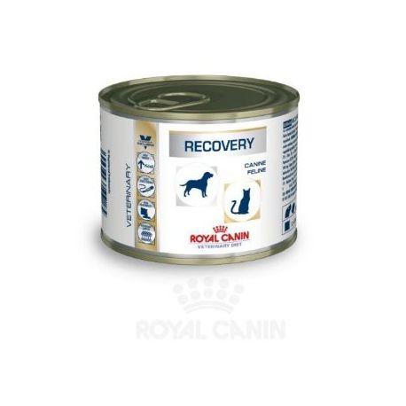 Royal Canin VET DIET Hund Katze ERHOLUNG 12 Kisten mit 195 g