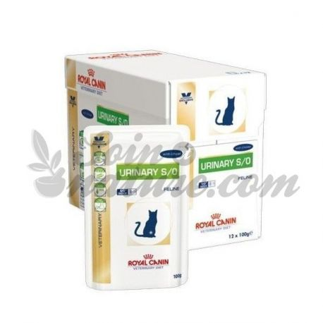 Royal Canin VET DIET URINARY CAT CHICKEN 12 Beutel von 100 g