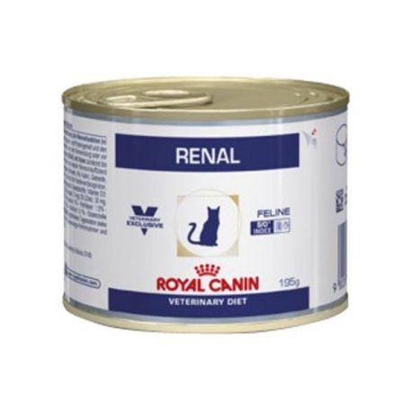 ROYAL CANIN VET DIET CAT RENAL POULET 12 boîtes de 195 g
