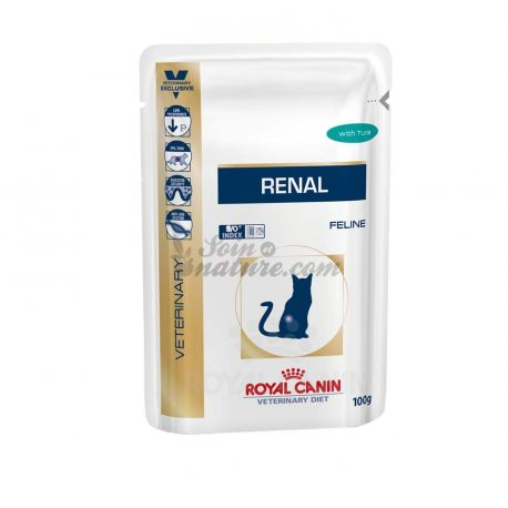 Royal Canin RENALI CAT VET DIETA POLLO 12 BAGS 100 G