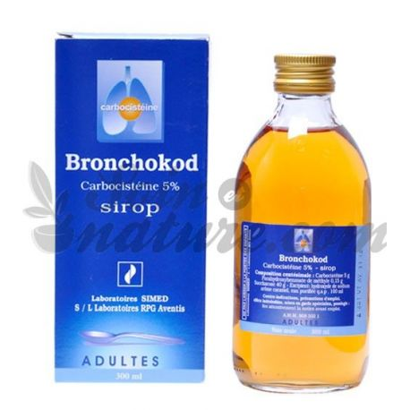 BRONCHOKOD SIROP ADULTE 5 % 300 ML