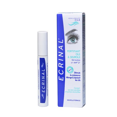 ECRINAL LASHES AND EYEBROWS STRENGTHENING GEL 9ML