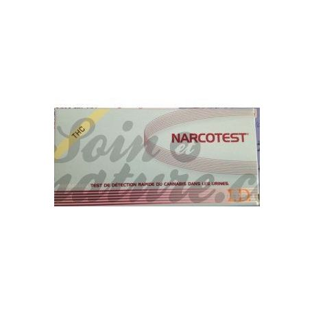 NARCOTEST TEST URINAIRE 4 DROGUES BT1
