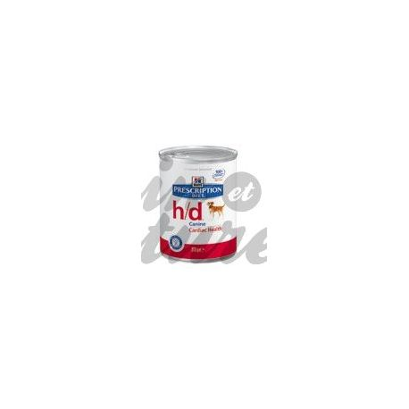 HILL'S SCIENCE PLAN PRESCRIPTION DIET CANINE H/D 12 boîtes de 370 g