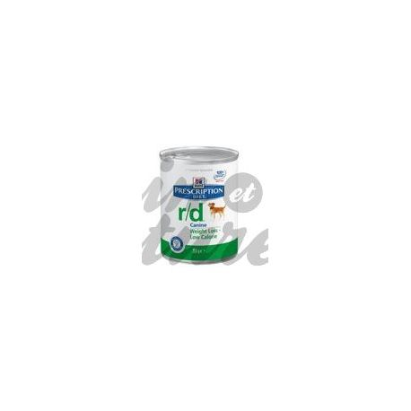 HILL'S SCIENCE PLAN PRESCRIPTION DIET CANINE R/D 12 boîtes de 350 g