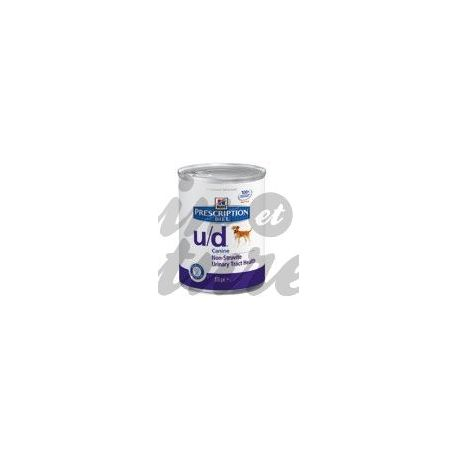 HILL'S SCIENCE PLAN PRESCRIPTION DIET CANINE U/D 12 boîtes de 370 g