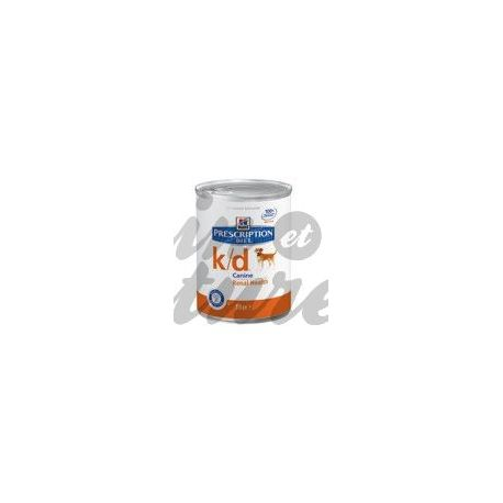 HILL'S SCIENCE PLAN PRESCRIPTION DIET CANINE K/D 12 boîtes de 370 g