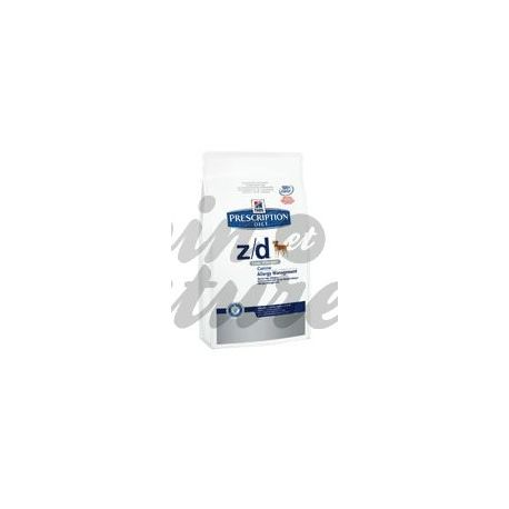 Hill's Prescription Diet HONDS SCIENCE PLAN Z / D allergievrije 2 kg zak