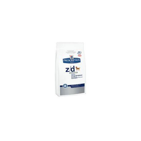 PRESCRIPCIÓ DE TURÓ DIETA CANINA DE CIÈNCIES PLA Z / D baix en al·lergen 2 kg borsa