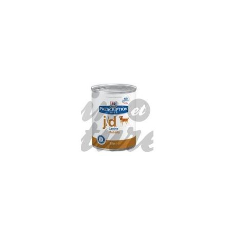 HILL'S SCIENCE PLAN PRESCRIPTION DIET CANINE J/D 12 boîtes de 370 g