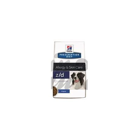 HILL'S PRESCRIPTION DIET CANINE SCIENCE PLAN Z / D ULTRA ALLERGEN 3 kg bag