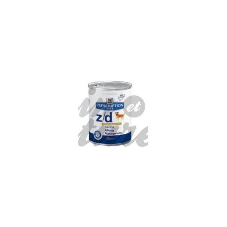 PRESCRIZIONE HILL'S DIETA CANE Science Plan Z / D ALLERGEN ULTRA 12 scatole di 370 g
