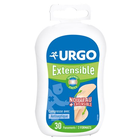 PANSEMENT URGO EXTENSIBLE BOITE DE 30