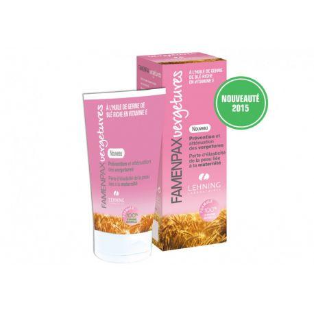 FAMENPAX vergetures gel calendula 125 ml