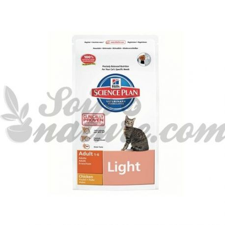 HILL'S SCIENCE PLAN FELINE ADULT LIGHT POULET sac 1,5 kg