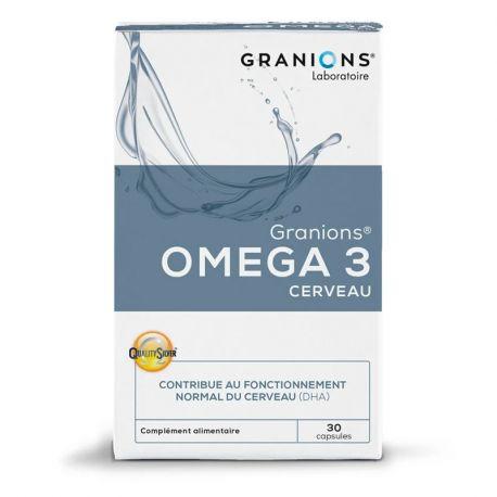 Granions Omega 3 30 cápsulas CÉREBRO