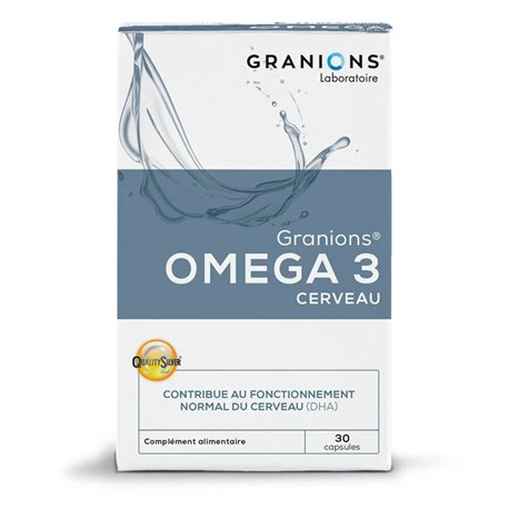 Granions OMEGA 3 CERVELL 30 CÀPSULES