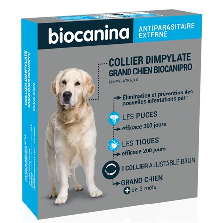 BIOCANIPRO DYMPHYLATE große Hunde Halsband