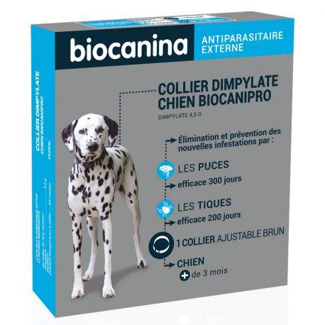BIOCANIPRO DYMPYLATE coleira de cão