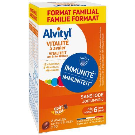Alvityl 90 comprimits