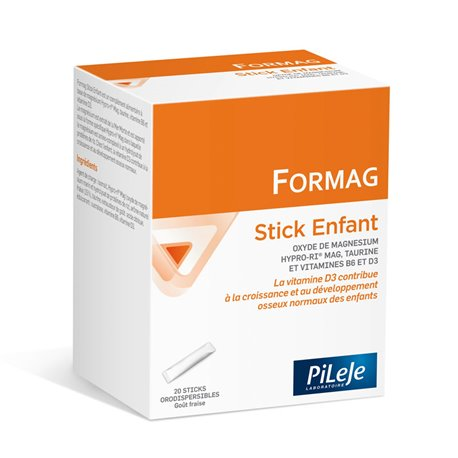 STRAWBERRY FLAVOUR 20 Formag STICKS PILEJE