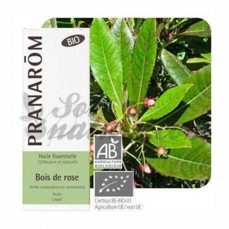 Huile essentielle BIO Bois de rose PRANAROM 10ml